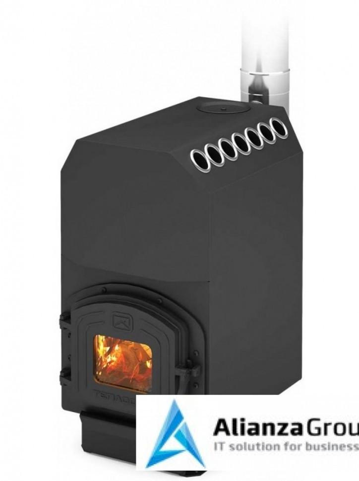 Отопительная печь Теплодар ТОП модель 200 с чугунной дверцей