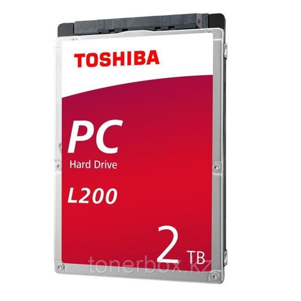 Внутренний жесткий диск Toshiba L200 HDWL120UZSVA (2 Тб, 2.5 дюйма, SATA, HDD (классические))
