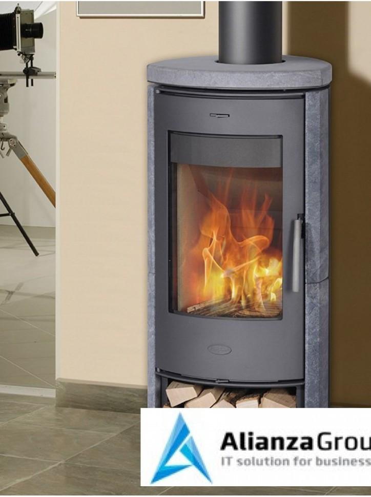 Печь-камин Fireplace Zanzibar Sp