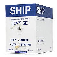 Кабель витая пара SHIP Кабель сетевой D135-2, Cat.5е, UTP, 305 м/б