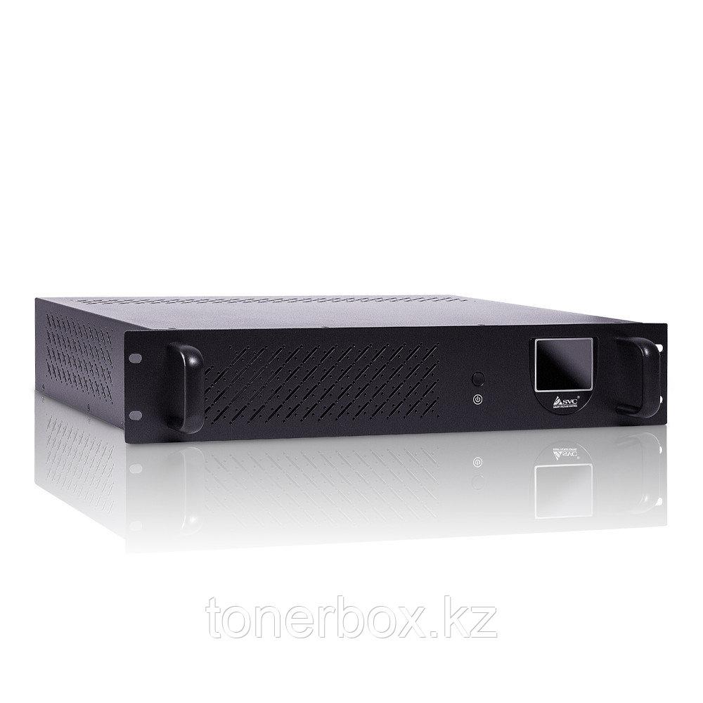 Источник бесперебойного питания SVC RTO-850-LCD (Линейно-интерактивные, C возможностью установки в стойку, 850 ВА, 480 Вт)