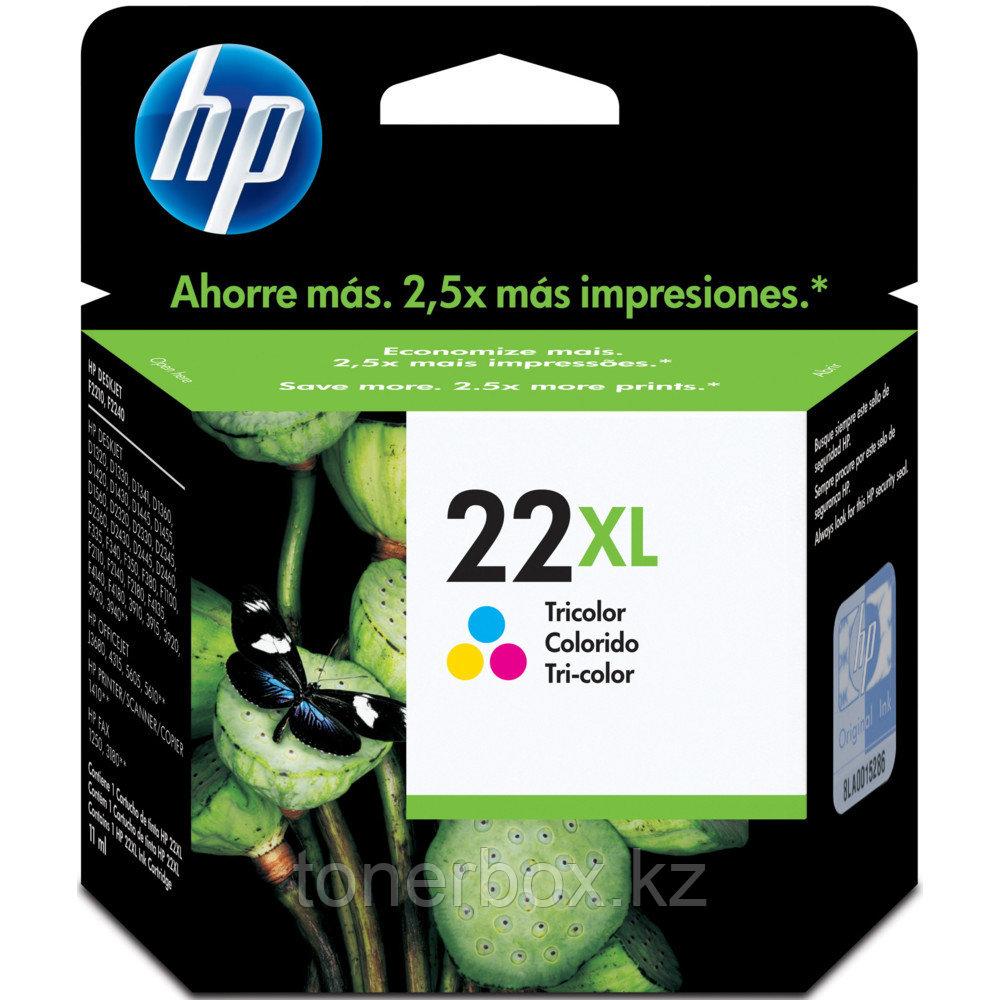 Струйный картридж HP 22XL трехцветный C9352CE