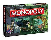 Монополия Рик и Морти на англ. языке