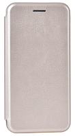 Кожаный чехол Open series для Samsung Galaxy A8 A530F 2018 (золотистый), фото 1
