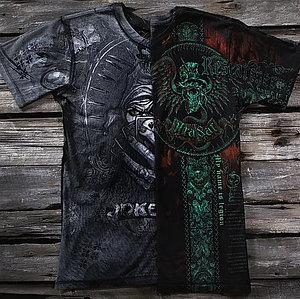 «Крест Легиона. Джокер» четырехслойная тотальная футболка мужская