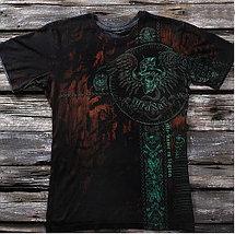 «Крест Легиона. Джокер» четырехслойная тотальная футболка мужская, фото 2
