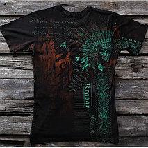 «Крест Легиона. Джокер» четырехслойная тотальная футболка мужская, фото 3
