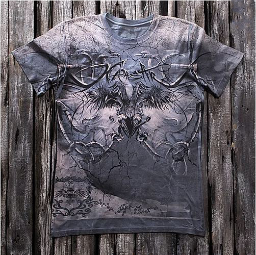 «Узор» тотальная футболка мужская