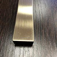 12*20, матовое золото - Профиль для декорирования мебели, 305 см