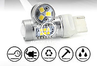 LED лампа T20 canbus (к-т) белый, жёлтый, красный