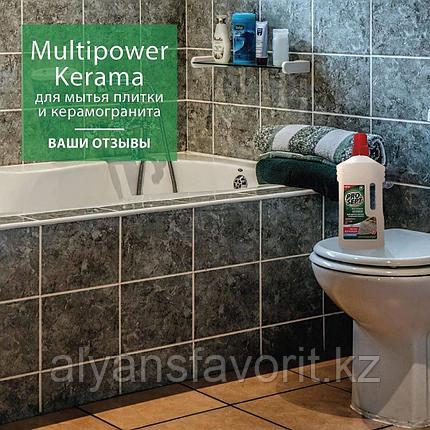 Multipower Kerama - моющее средство для мытья плитки и керамогранита. 1 литр. РФ, фото 2