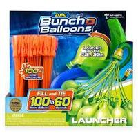 Bunch O Balloons Launcher With 100 Rapid-Filling Self-Sealing Water Balloons By ZURU