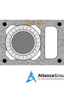 Универсальный комплект шибера Schiedel UNI 25L