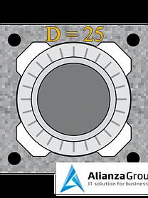 Универсальный комплект шибера Schiedel UNI 25