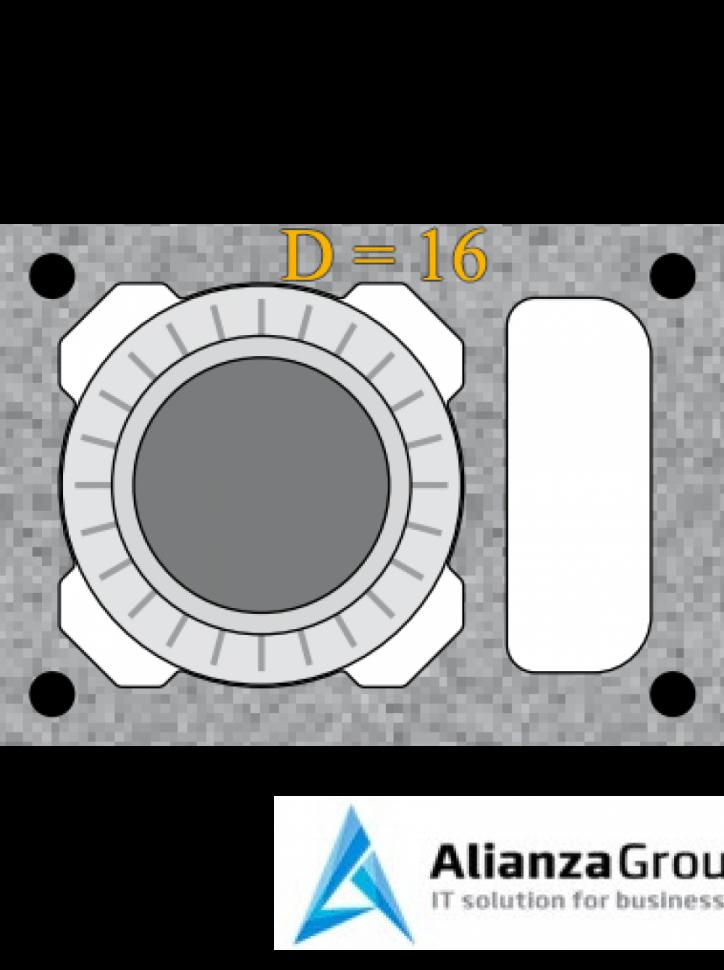 Универсальный комплект шибера Schiedel UNI 16L
