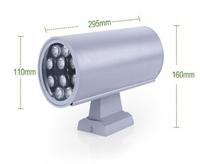 Настенный направленный светильник - Двухсторонний (белый)