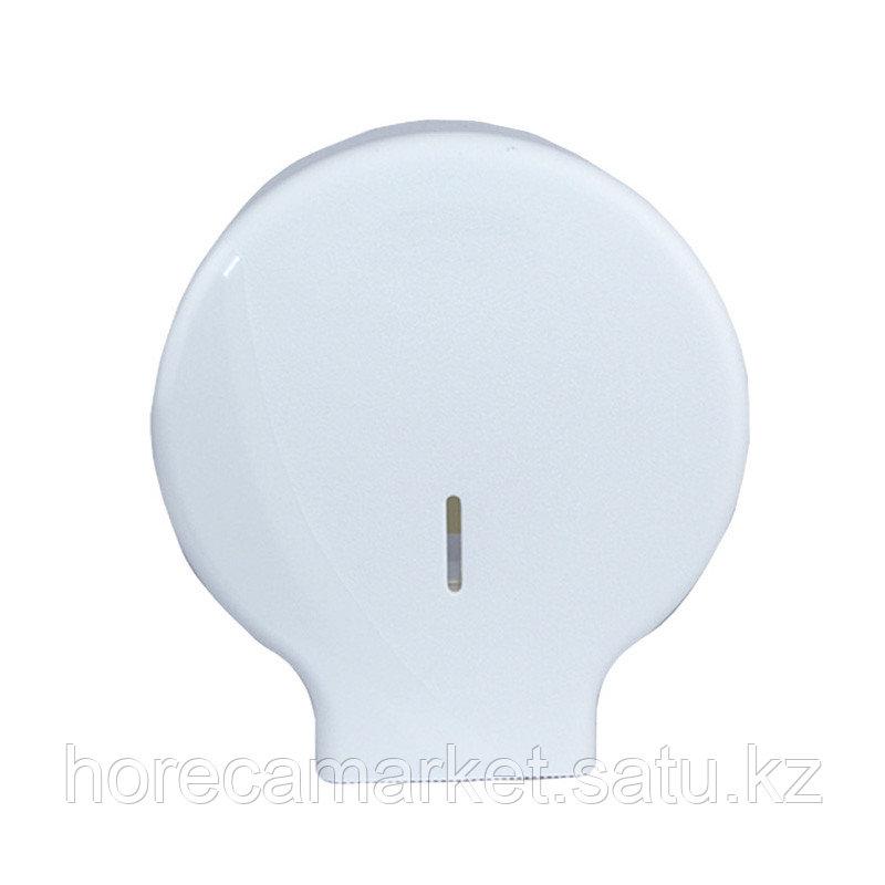 Диспенсер для туалетной бумаги Джумбо белый 1310-b