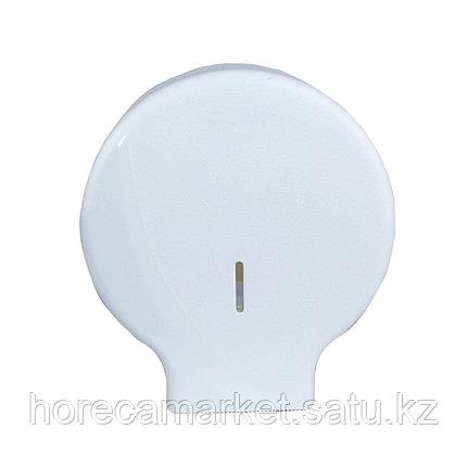 Диспенсер для туалетной бумаги Джумбо белый 1310-b, фото 2