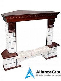 Портал Royal Flame Pierre Luxe угловой под очаг Dioramic 25FX