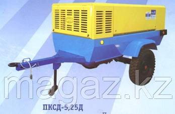 Компрессор дизельный ПКСД-5,25 на шаси двиг. Рикардо, фото 2