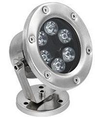Подводные светильники для бассейнов и фонтанов 6Вт-Теплый белый