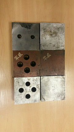 Ножы для станка резки арматуры CQ40D, фото 2