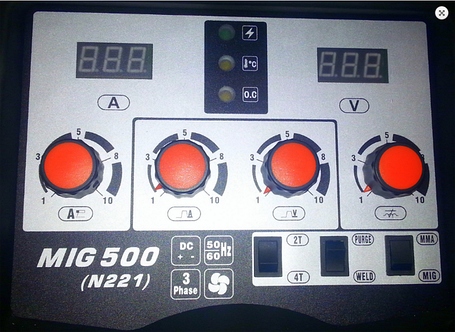 Сварочный полуавтомат Jasic MIG 500 (N221), фото 2
