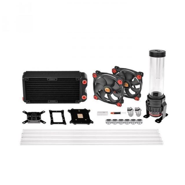 Водяное охлаждение Thermaltake Pacific Gaming RL240 D5 PETG LCS Kit