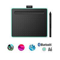 Графический планшет, Wacom, Intuos Small Bluetooth (CTL-4100WLK-N) Зеленый