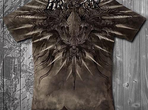 «Империя коричневая» – тотальная футболка мужская, фото 2