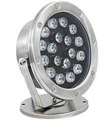 Подводные светильники для бассейнов и фонтанов 18Вт-RGB