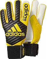 Перчатки вратарские Adidas Predator PRO желтые, синие  размер 7