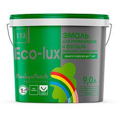 Эмаль для фасадов и интерьеров Радуга Eco-Lux 5