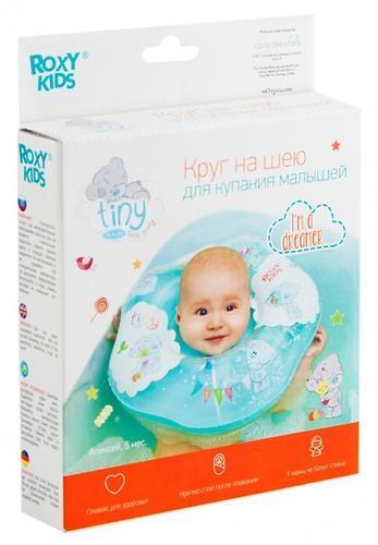 Надувной круг Roxy Kids на шею для купания малышей  Teddy (Надувной круг на шею Roxy Kids для купания малышей Teddy Every Day)