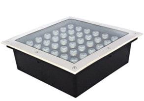 Грунтовый светодиодный светильник 36Вт Теплый белый