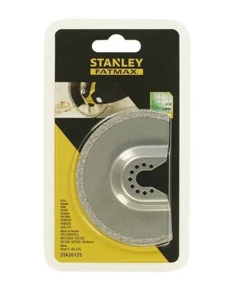 Пильное полотно Stanley погружное 92 мм STA26125  (Stanley, STA26125, Полотно карбидовое для реноватора, 1х92