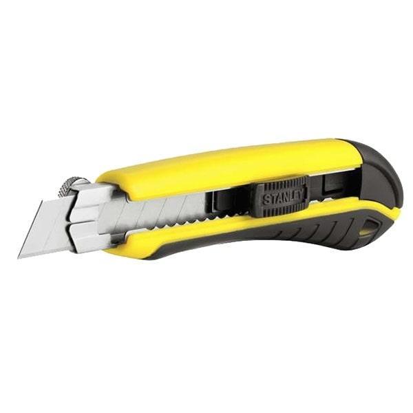 """Сегментированный нож Stanley 175 мм 1-10-480 (STANLEY,  1-10-480, НОЖ """"DYNAGRIP"""" КАССЕТНЫЙ С 18-ММ ЛЕЗВИЕМ С"""