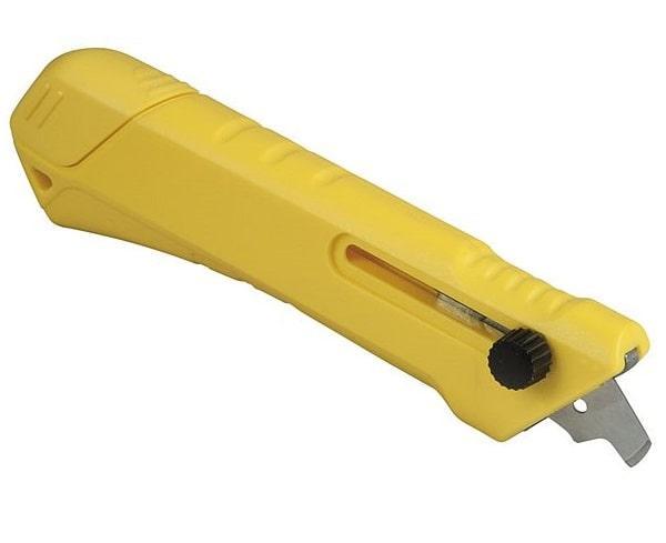 Нож для пластика и ламината с выдвижным  лезвием Stanley STHT0-10192 (STANLEY, STHT0-10192, НОЖ ДЛЯ ПЛАСТИКА И