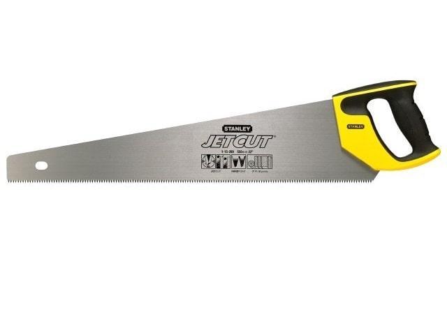 "Ножовка по дереву Stanley Jet-Cut SP 500 мм 2-15-288 (STANLEY,  2-15-288, НОЖОВКА ПО ДЕРЕВУ ""JET-CUT"" С"