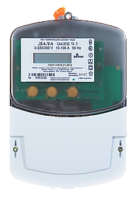 Эл.счетчик Дала ТХ P PLC IP П RS СА4-Э720 R (3*220/380V 10-100А)