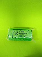 Пакет майка без бобины(зеленый) 220*400 мм