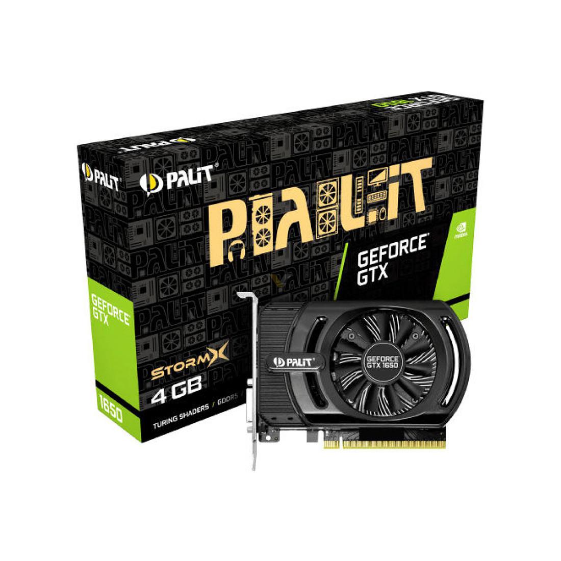 Видеокарта PALIT GTX1650 STORMX 4G