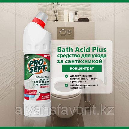 Bath Acid +- средство для мытья унитазов и сантехники. 5 литров.РФ, фото 2