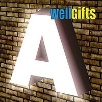 Объемные буквы с лицевым свечением