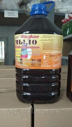 Биоклин - жидкое хозяйственное мыло 72%. 1 и 5 литров.РК, фото 2