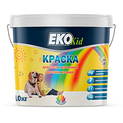 Краска для детских комнат Радуга Eko Kid