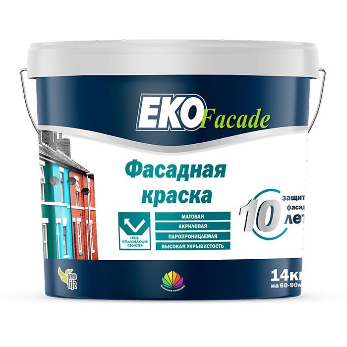 Краска фасадная Радуга Eko Facade