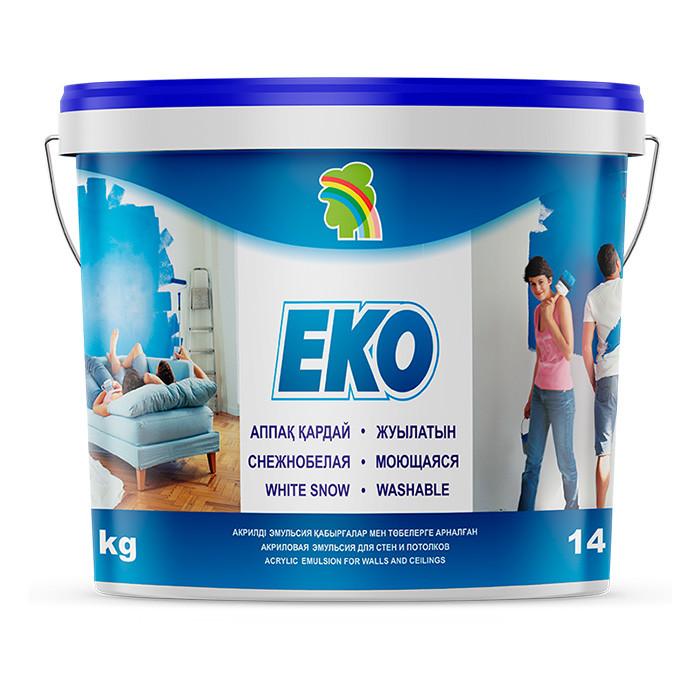 Краска для стен и потолков Радуга Eko