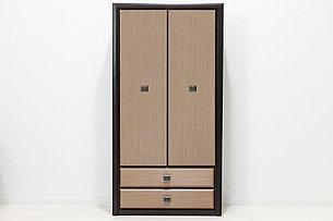 Шкаф для одежды 2Д , коллекции Коен МДФ, Штрокс Темный, БРВ Брест (Беларусь), фото 2