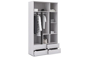 Шкаф для одежды 3Д , коллекции Валенсия, Анкор Анкор светлый, Стендмебель (Россия), фото 2
